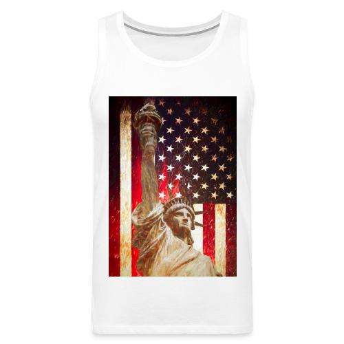 Lady Liberty - Herre Premium tanktop