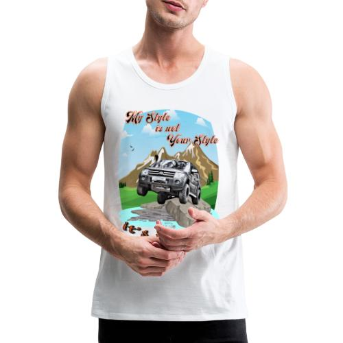 Montero / Pajero V60 My Style is not your style - Tank top premium hombre