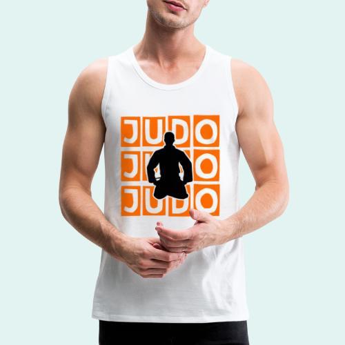 Motiv Judo Orange - Männer Premium Tank Top