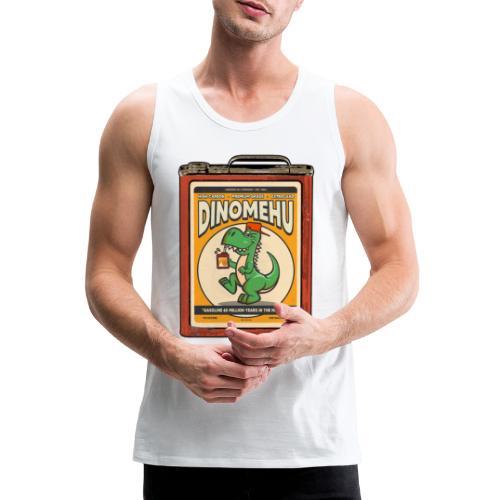Dinomehu -kanisteri - Miesten premium hihaton paita