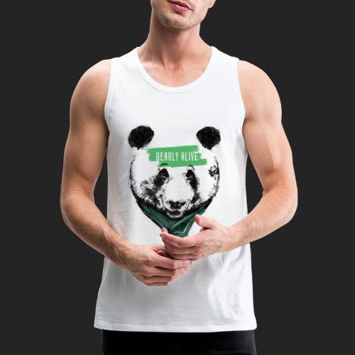 Panda bearly alive - Débardeur Premium Homme