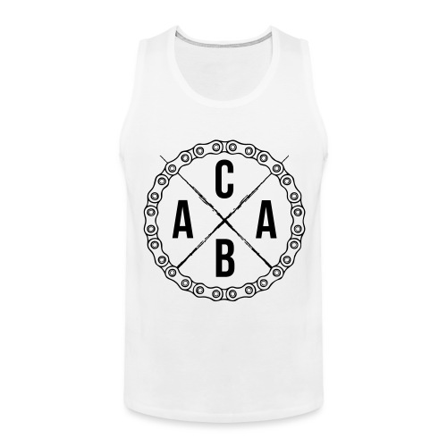 ACAB All Cyclists Are Beautiful - Männer Premium Tank Top