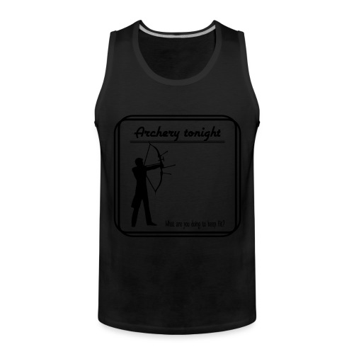 Archery tonight - Miesten premium hihaton paita