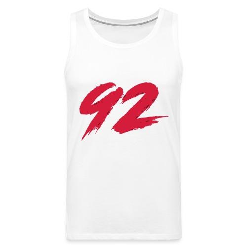 92 Logo 1 - Männer Premium Tank Top