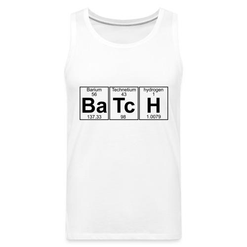 Ba-Tc-H (batch) - Full - Men's Premium Tank Top