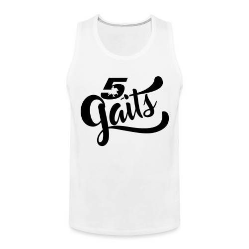 5Gaits 1 - Men's Premium Tank Top