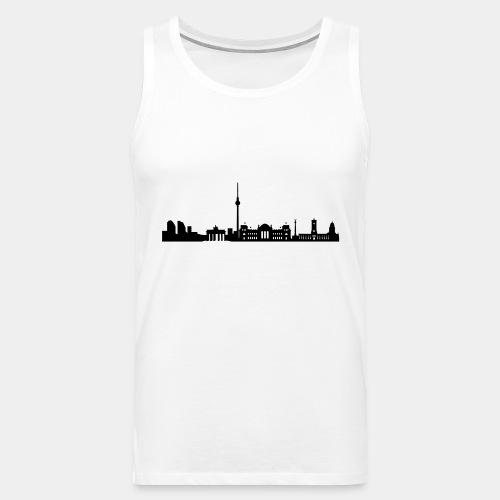 Berlin Skyline - Männer Premium Tank Top