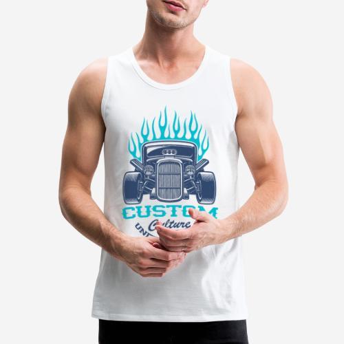 Custom Car USA - Männer Premium Tank Top