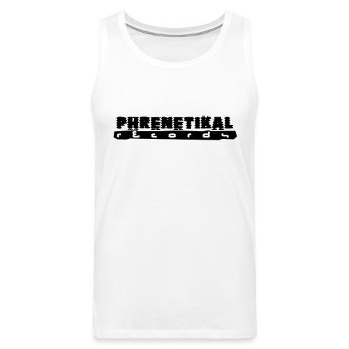 Lettering Basic 01 Phrenetikal - Men's Premium Tank Top