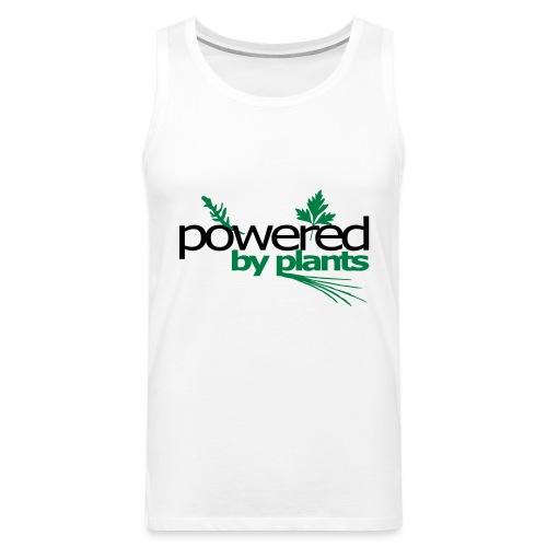 POWERED BY PLANTS - Männer Premium Tank Top