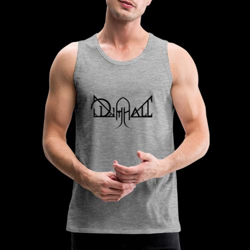 Dimhall Black - Men's Premium Tank Top