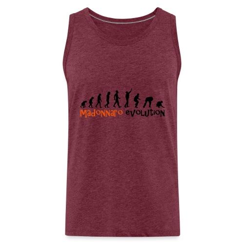 madonnaro evolution original - Men's Premium Tank Top
