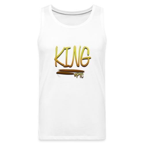 King Motiv - Männer Premium Tank Top