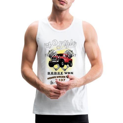 Dodge Power Wagon 1947 - Tank top premium hombre