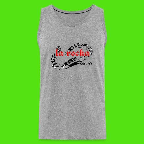 La Rocka - white'n'red2 - Men's Premium Tank Top