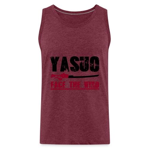 Yasuo Main - Männer Premium Tank Top