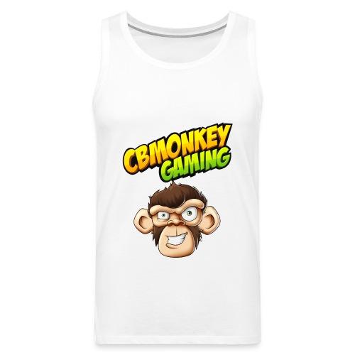 CBMonkey Logo fw png - Men's Premium Tank Top