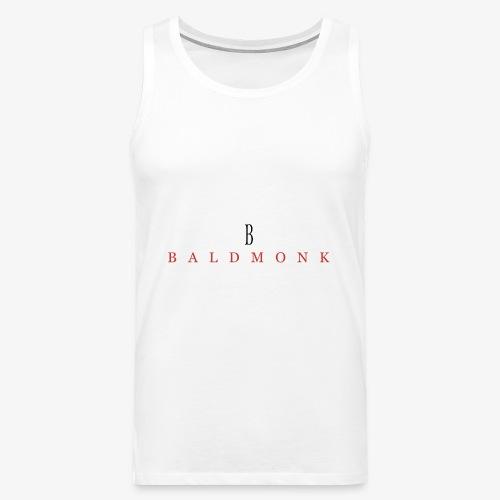 Baldmonk Classic Logo - Men's Premium Tank Top