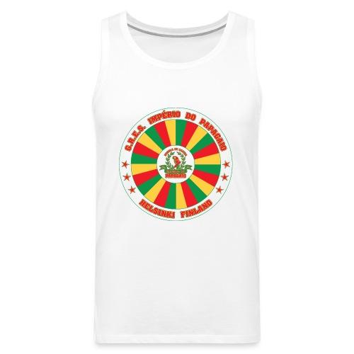 Papagaio drum logo - Miesten premium hihaton paita