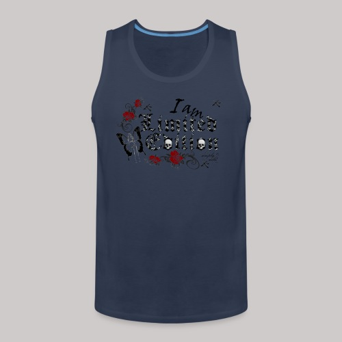 simply wild limited Edition on white - Männer Premium Tank Top