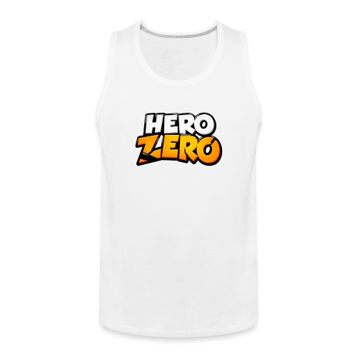 Hero Zero Logo - Men's Premium Tank Top