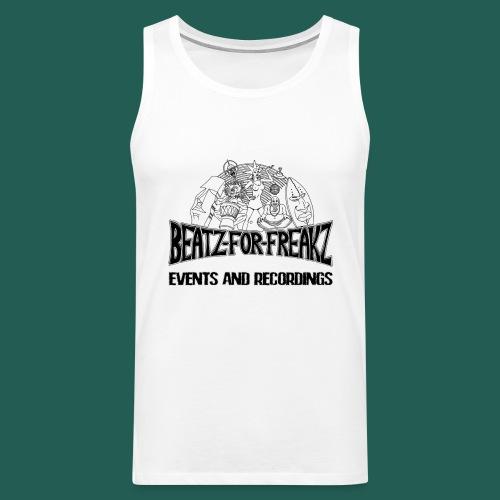Beatzforfreakzeventsrecor - Männer Premium Tank Top