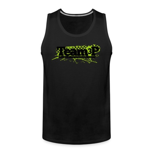 Team3P Logo - Männer Premium Tank Top