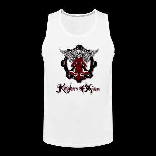 KoX1 png - Men's Premium Tank Top