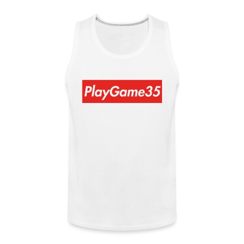 PlayGame35 - Canotta premium da uomo