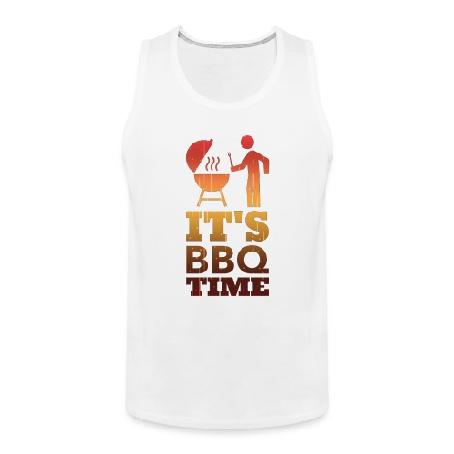 It's BBQ Time - Mannen Premium tank top