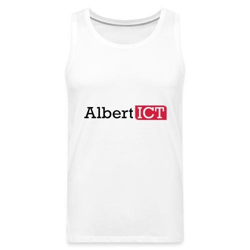 AlbertICT logo full-color - Mannen Premium tank top