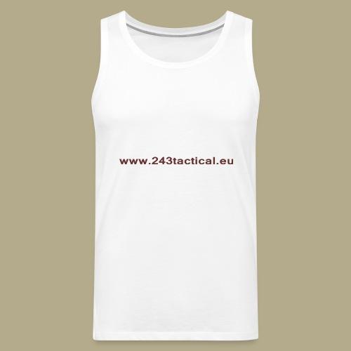 .243 Tactical Website - Mannen Premium tank top