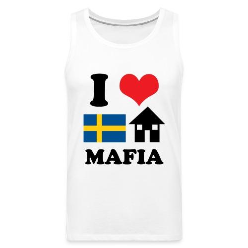 i love swedish house mafia copy - Men's Premium Tank Top