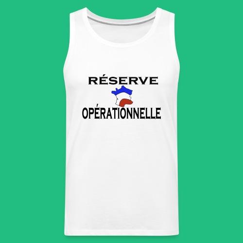 reserve operationnelle3 - Débardeur Premium Homme