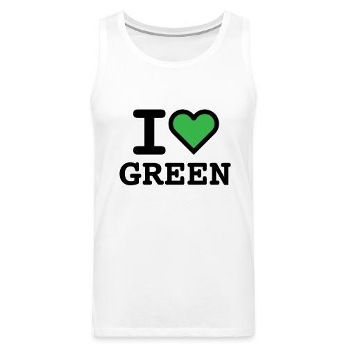 i-love-green-2.png - Canotta premium da uomo