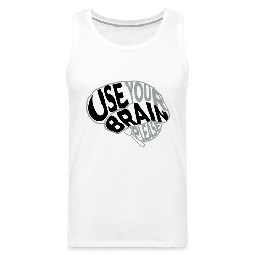 Use your brain - Canotta premium da uomo