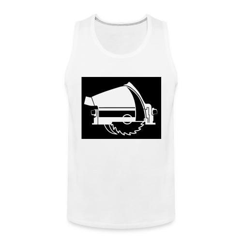 saw - Men's Premium Tank Top