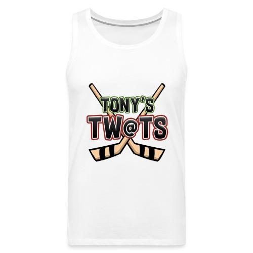 Tony's twats - Men's Premium Tank Top