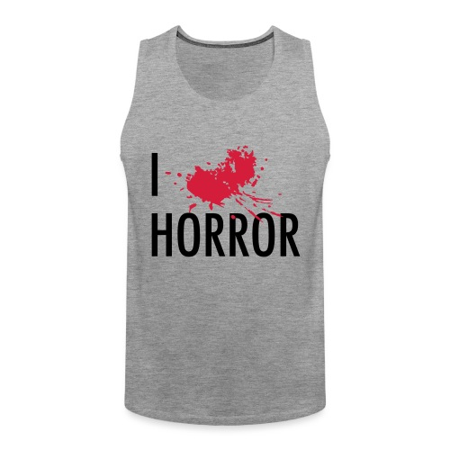 Love horror blood sangue - Canotta premium da uomo