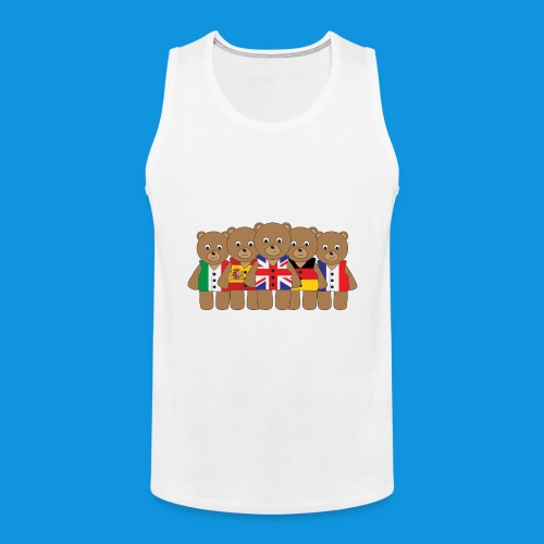The Big Five tank - Men's Premium Tank Top