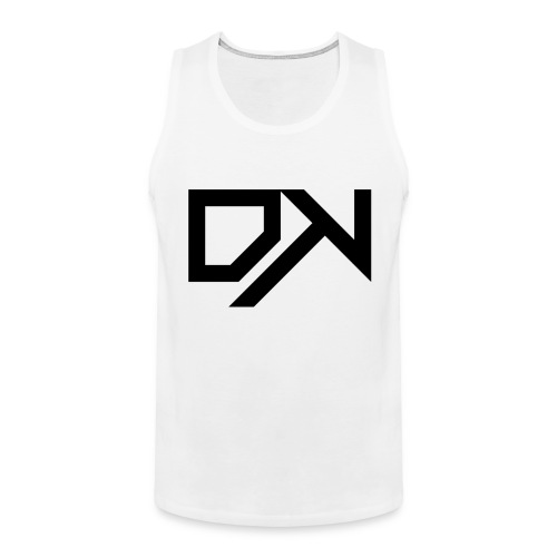 DewKee Logo Cap Black - Men's Premium Tank Top