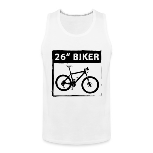 26 Biker - 1 Color - Männer Premium Tank Top