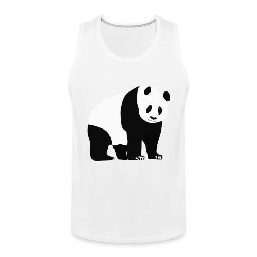 Panda - Miesten premium hihaton paita
