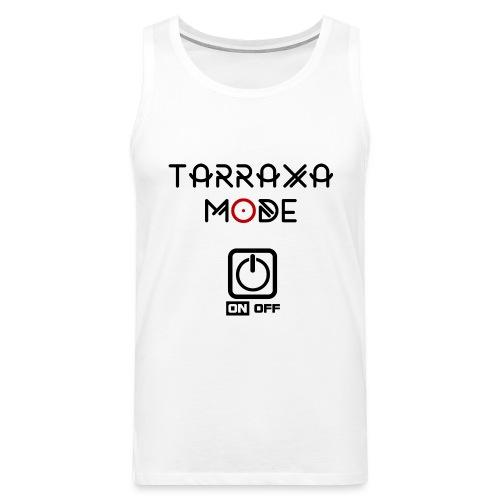 Tar Mode Black png - Men's Premium Tank Top