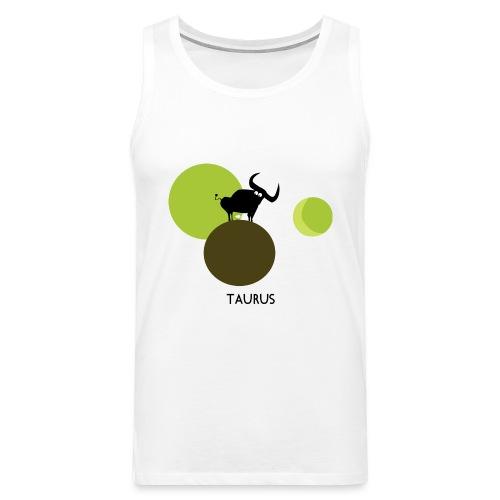 Unconventional zodiac :taurus - Canotta premium da uomo