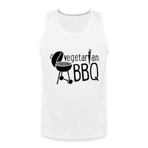 vegetarian bbq - Männer Premium Tank Top