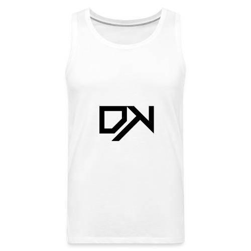 DewKee Logo T-Shirt Black - Men's Premium Tank Top