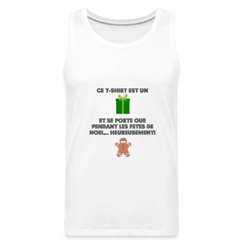 T-shirt cadeau de Noël - Débardeur Premium Homme