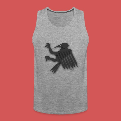 Nörthstat Group ™ Black Alaeagle - Men's Premium Tank Top