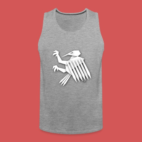 Nörthstat Group ™ White Alaeagle - Men's Premium Tank Top